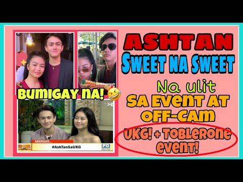 ASHTAN sobrang sweet na ulit sa mga event at off-cam |  UKG+ Toblerone event! Sobrang blessed!