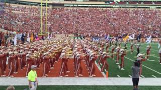 Texas Longhorn Band Pre-game Entrance Into DKR Sep 4, 2016 Notre Dame @ Texas