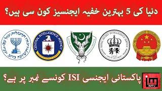Top 5 Intelligence Agencies in the world | Umar Saleem | IM Tv