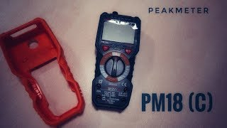 видео PeakMeter PM18C (True RMS)