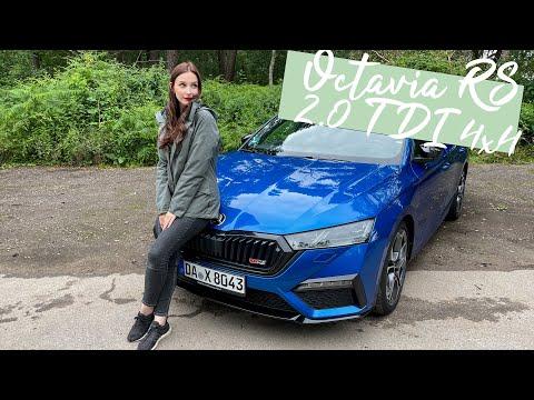 Praktisch trifft Flott trifft Sparsam: Skoda Octavia Combi RS 2.0 TDI 4x4 [4K] - Autophorie