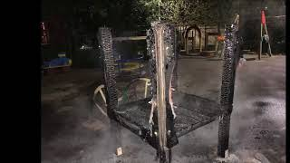 Сожгли детскую площадку в Сочи