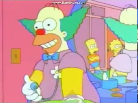 Homer goes to clown college - The Simpsons at its peak!