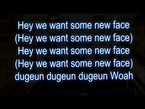 PSY - 'New Face' M/V lyrics