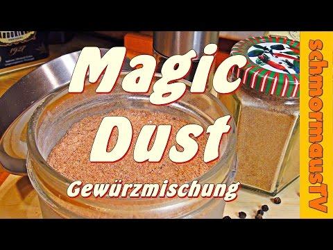 Magic Dust Gewürzmischung - Rub - Grillgewürz -  Gewürzmischung selber machen -