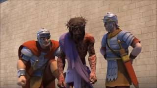 Juan 19: 10-11 Jesús Ante Pilato.... Lacerado (Superbook)