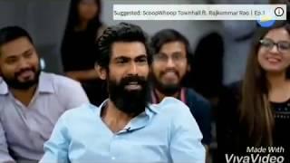 Rana Daggubati Viral Slap Video - www.mirchi9.com