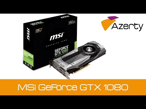 MSI GeForce GTX 1080 Founders Edition 8GB Grafische kaart