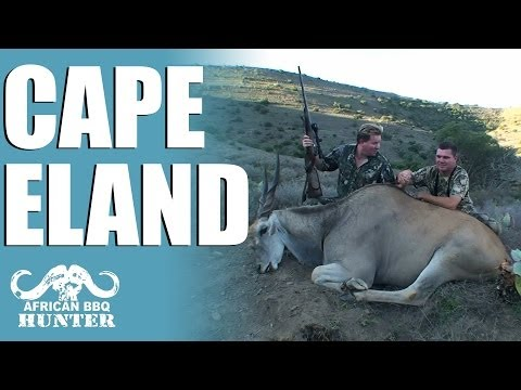 African BBQ Hunter – Eland in the Cape