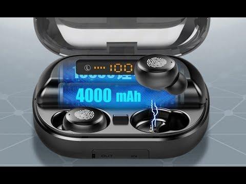 TWS 5,0 Bluetooth 9D стерео наушники, беспроводные наушники IPX7, водонепроницаемые