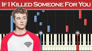 Alec Benjamin - If I Killed Someone For You | Piano tutorial