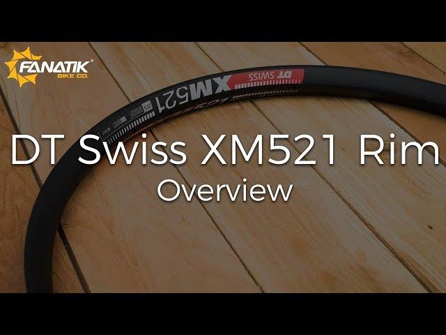 Видео Обод DT Swiss XM 521 27x35 DB P WA 32 BL 01P STD VI