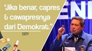 Namanya Dikaitkan Kasus Century, SBY: Jika Punya Rp120 Triliun Capres dan Cawapresnya dari Demokrat