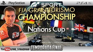 GT SPORT - FIA NATIONS CUP SEASON FINAL | MI MEJOR RESULTADO | GTro_stradivar
