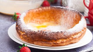 Dutch Baby Pancake | German Pancake Recipe