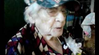 Mrs. Ida [Moore] Rumsey of Toccoa, GA is 100 years YOUNG!