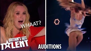 A&J: Aerial Performing Duo SHOCK Everyone...Watch What Happens!   Britain's Got Talent 2019
