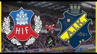 AIK MOT SM-GULD | HELSINGBORG - AIK | SÅJA 🖤💛