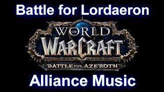 Battle for Lordaeron Music (Alliance) - Warcraft Battle for Azeroth Music