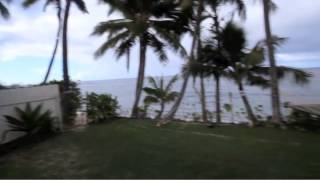 preview picture of video 'North Shore, Oahu, Beachfront Waialua Home For Sale - 67-241 Kahaone Loop - OCEANFRONT - MLS 1300389'