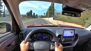 2021 Ford Bronco Sport 2.0 Badlands POV Test Drive (3D Audio)(ASMR) by MilesPerHr