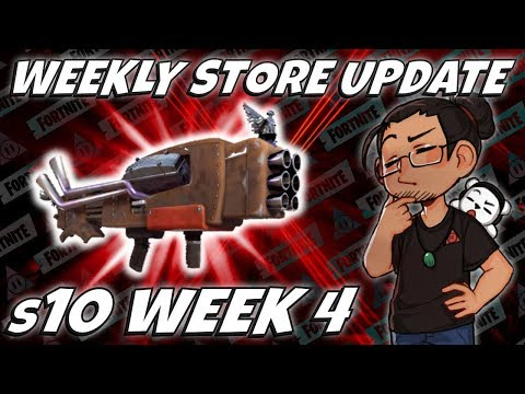 Weekly Shop Reset | V6 Launcher 1st Look | Fortnite Stw