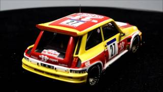HEADLINER Renault 5 MAXI Turbo #27 1985 Tour de Corse
