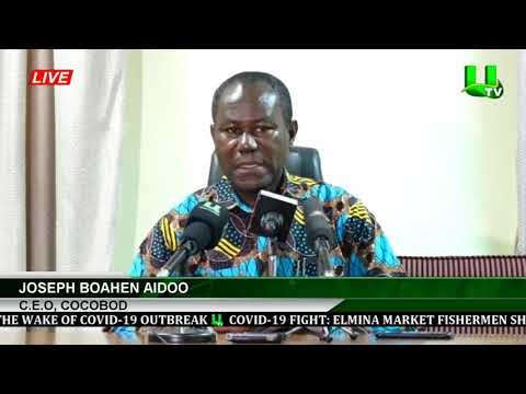 'Covid-19 Outbreak Not Halting Cocoa Trading'  -COCOBOD CEO Assures Farmers