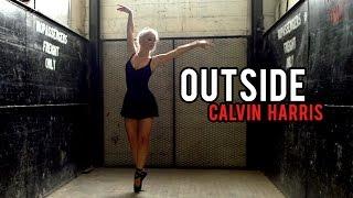 Calvin Harris - Outside ft. Ellie Goulding (DSharp Violin Cover)