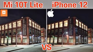 Xiaomi Mi 10T Lite VS iPhone 12 Camera Comparison - Surprising Results!