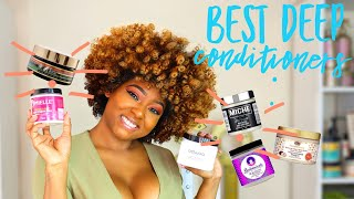 The Best Deep Conditioners For Moisturizing OR Strengthening Natural Curly Hair | Products