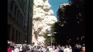 Lower Manhattan Sept 11, 2001 South Tower Collapse