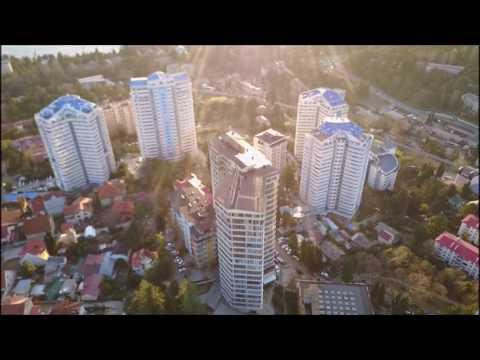 ЖК на Метелева с квадрокоптера || Недвижимость в Сочи с квадрокоптера!