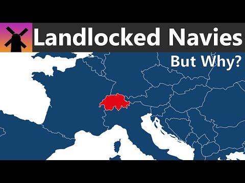 Proč mají některé vnitrozemské státy námořnictvo?
