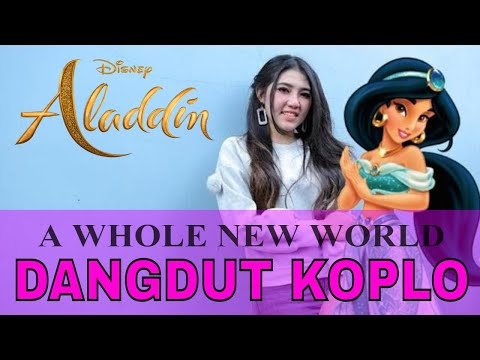 ALADDIN - A Whole New World (Dangdut Koplo Version) Cover by ALIE SOLO Vs Dunia MANJI ft. KIMI HIME