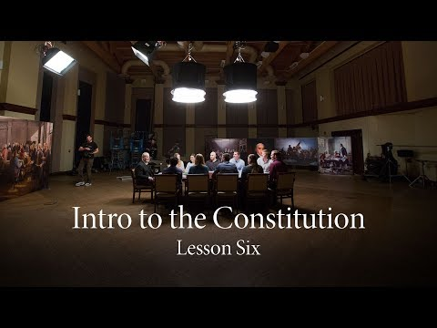 Lesson Six | The People Rule, But They Do Not Govern