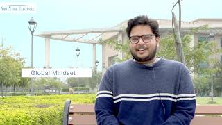 Impressions of the MBA program at Shiv Nadar University by Siddharth