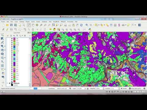 Corso QGIS ATI Tutorial 7 di 11 - Analisi delle Classi di Uso del Suolo Agro Forestale