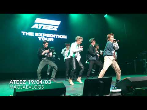 ATEEZ - Desire - London 19/04/03