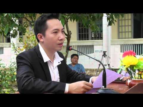 Phát biểu của thầy Lê Xuân Bắc tại lễ khánh thành thư viện The morning 4