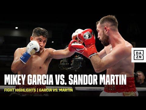 Сандор Мартин - Майки Гарсия / Martin vs. Garcia
