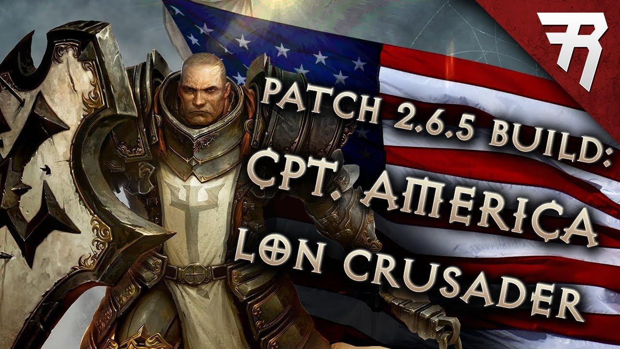 Diablo 3 Season 17 Crusader LoN Blessed Shield Captain