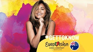 ESC 2018: Get to Know.... JESSICA MAUBOY from AUSTRALIA | Eurovision Song Contest 2018 🇦🇺