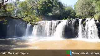 preview picture of video 'Salto Capioví, Capioví. Misiones Natural'