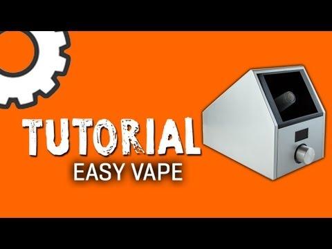 Easy Vape Vaporizer Tutorial – TVape