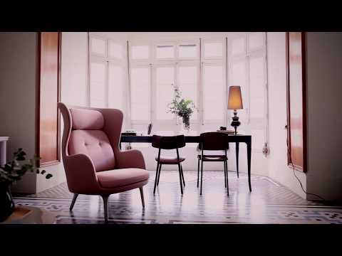 Youtube-Video about the Ro Chair by Fritz Hansen