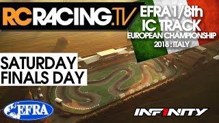 EFRA 1/8th Track Euros - Saturday- Finals Day -  LIVE! | Kholo.pk