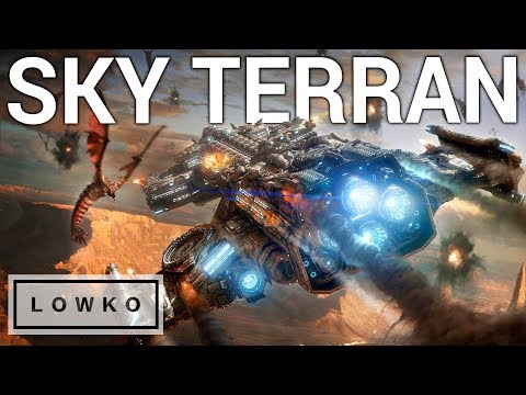 StarCraft 2: LATE GAME SKY TERRAN?!