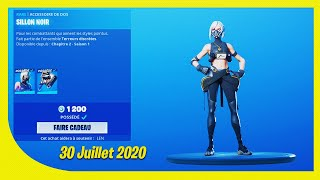 BOUTIQUE FORTNITE Du 30 Juillet 2020 ! ITEM SHOP July 30 2020 !