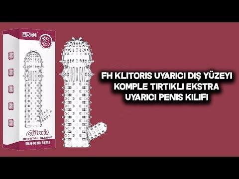 FH Klitoris Uyarıcı Dış Yüzeyi Komple Tırtıklı Ekstra Uyarıcı Penis Kılıfı